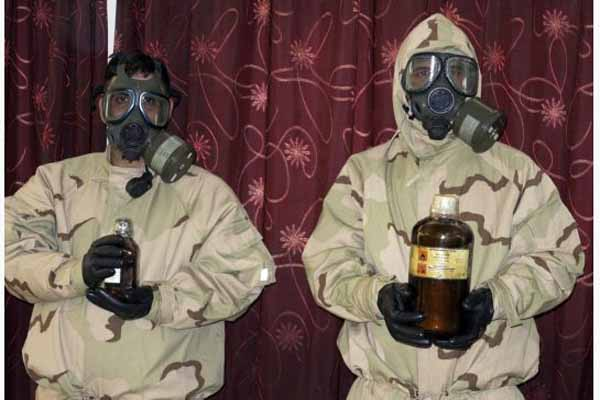 Iraq captures alleged Al Qaeda chemical gas team