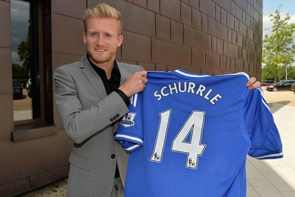 Chelsea FC seal André Schürrle deal