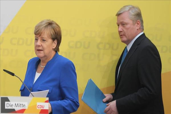 German leader hopeful about election defeat in Lower Saxony