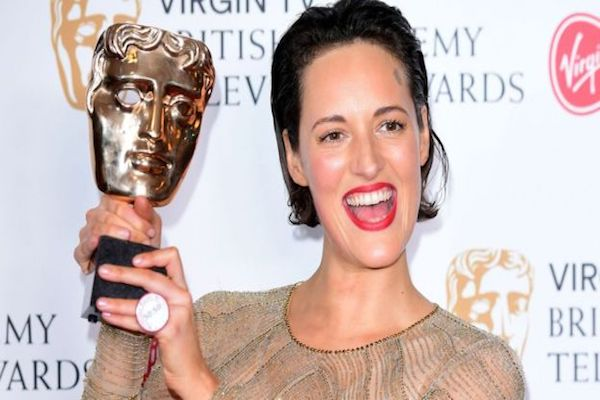 What happened at the Bafta TV awards backstage