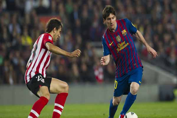 Barcelona's La Liga title on hold after draw at Athletic Bilbao