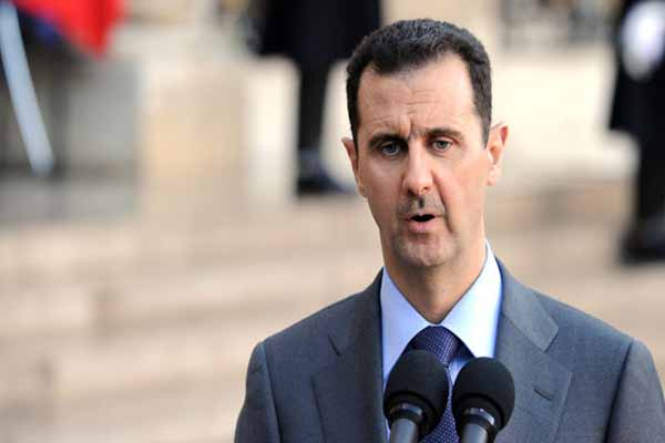 Assad says war is the only way to crush 'terrorism'