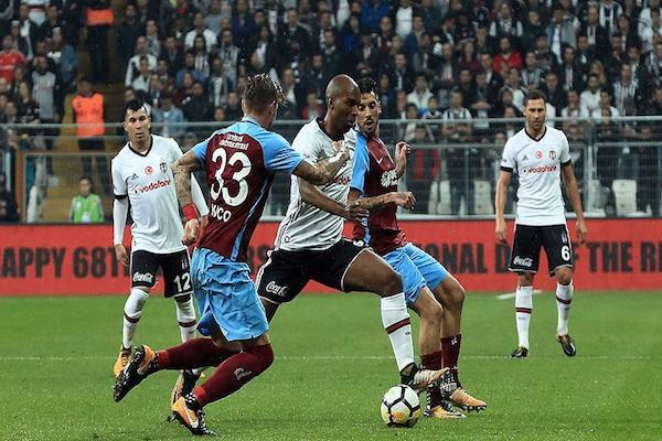 Turkish Besiktas and Trabzonspor draw in Istanbul