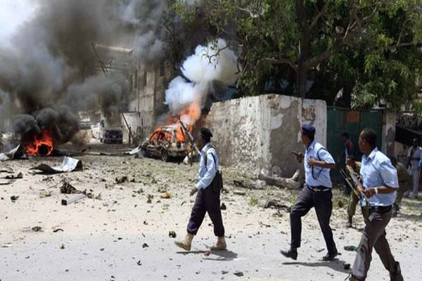 Big blast near Mogadishu airport in Somali