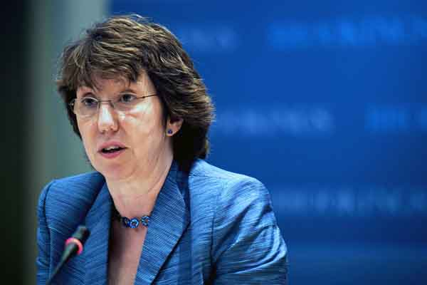 Catherine Ashton visit Egypt on Tuesday