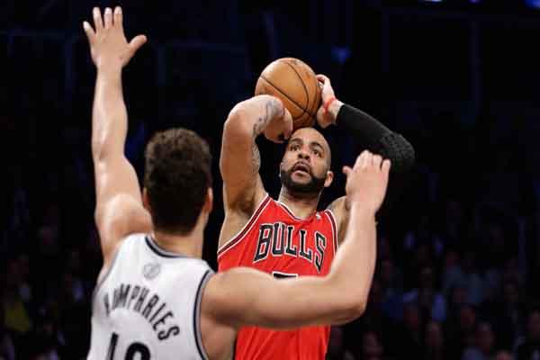 Chicago Bulls beat the Brooklyn Nets