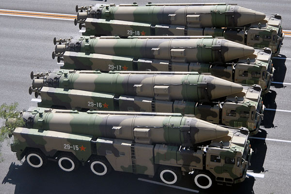 Chinese delegation holds talks on missile deal