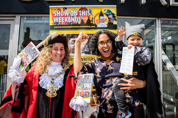 Islington libraries celebrate UK's biggest comic convention