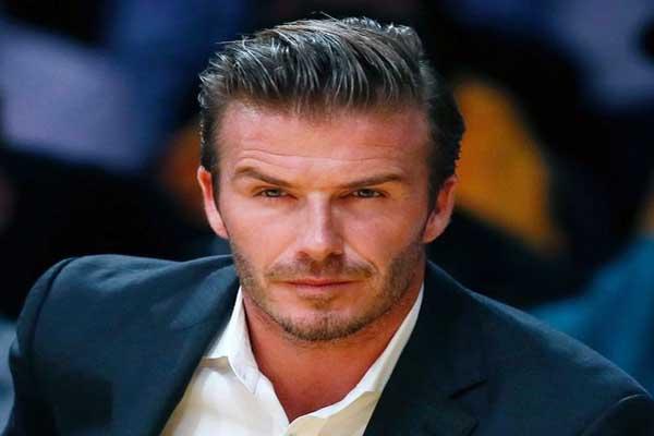 David Beckham retire from football