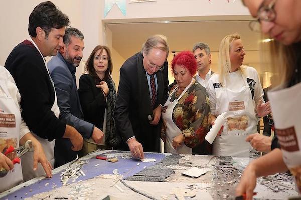 European Union delegation visits oldest temple in Turkey