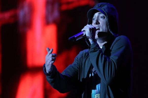 Eminem sues New Zealand governing party over his hit song