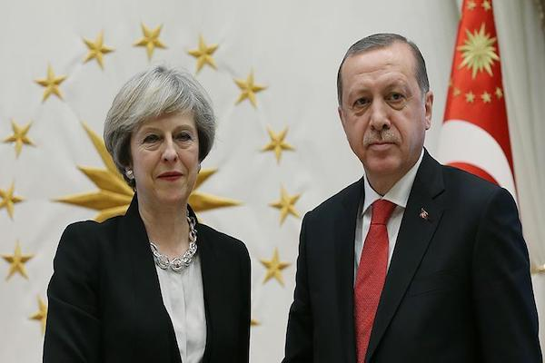 Erdoğan and May discussed about Cyprus over phone