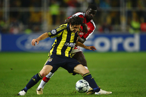 Fenerbahce to face Arsenal in Champions League