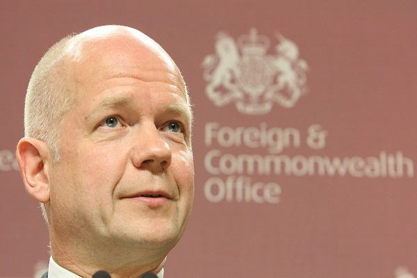 William Hague says, 'All Syrian opposition should join peace talks'