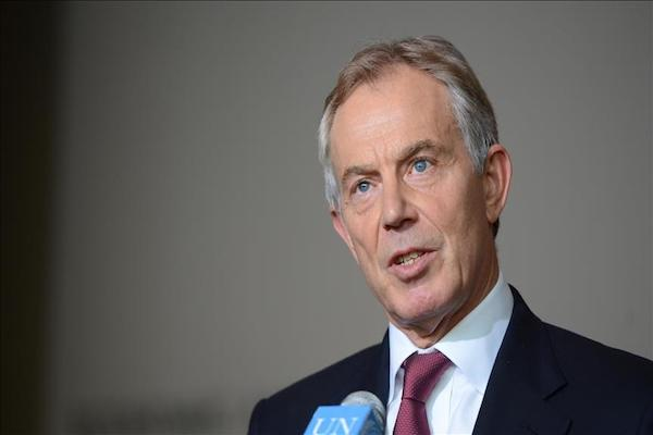 Tony Blair urged the Labour Party to oppose Brexit