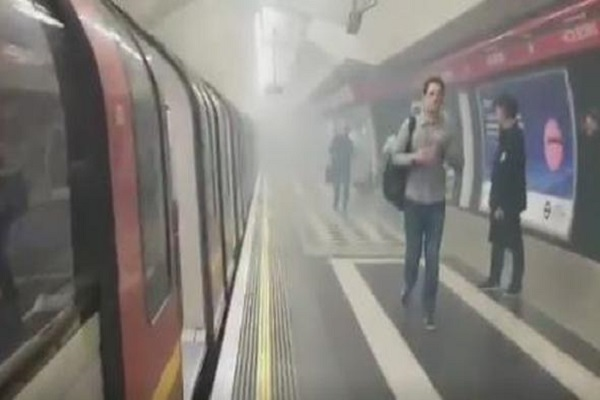 Holborn Underground station in London's West End was evacuated