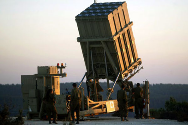 Israel deploys 'Iron Dome' battery near Jerusalem