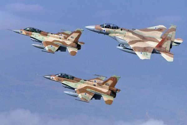Israeli air strike hits Palestinian targets