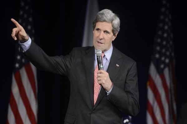 John Kerry addresses US citizens on Syria