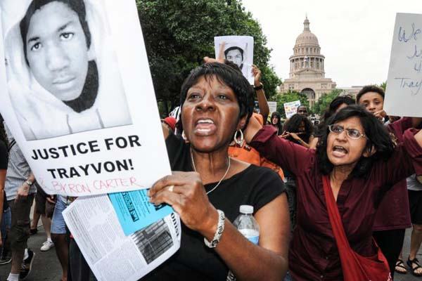 Americans seek 'Justice for Trayvon Martin'