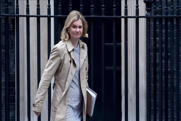 UK education secretary Justine Greening resigns amid cabinet reshuffle