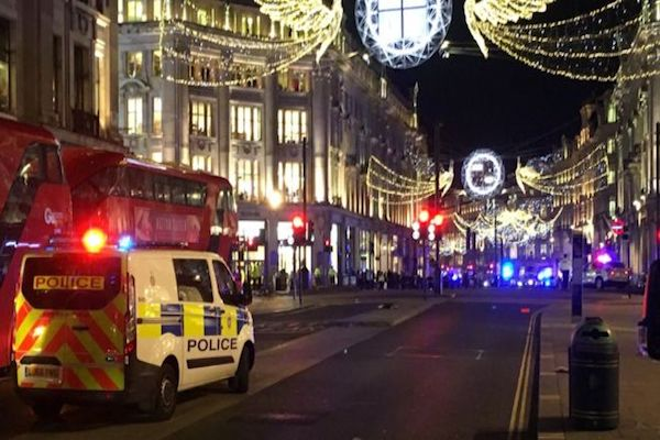 London Oxford Circus shots fired at the Tube station