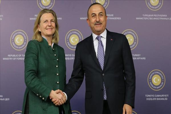 Latest  Turkey and Austria look to normalize relations