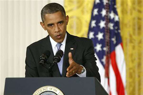 Barack Obama 'grateful' for Abbas' peace efforts