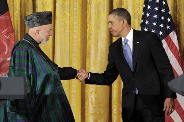 Obama and Karzai discuss Taliban impasse
