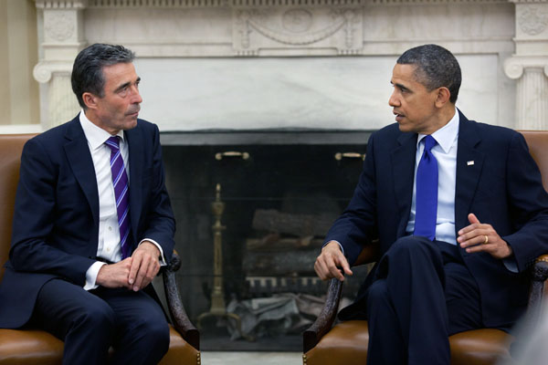 Obama and Rasmussen to discuss Afghanistan