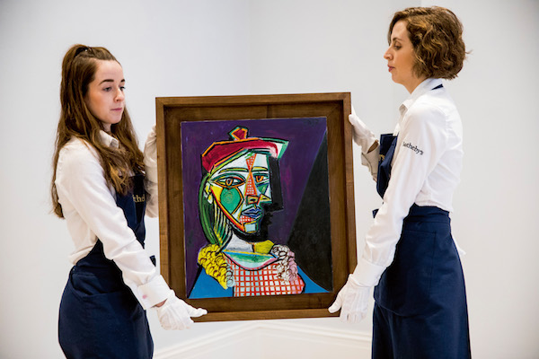 One of Picasso's greatest portraits emerges on the market