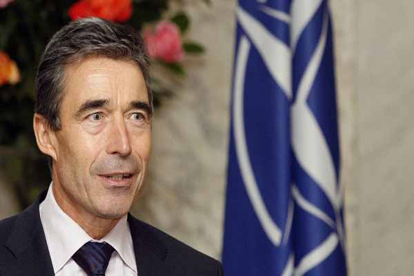 Rasmussen addresses Turkish protests, Syrian crisis
