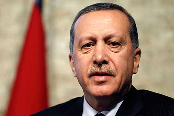Erdogan says Israel behind Egyptian coup