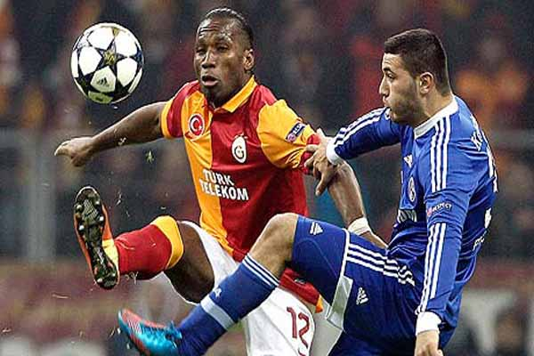 Galatasaray with Cophenagen Champions League