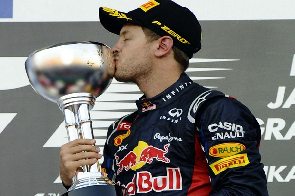 Sebastian Vettel wins fourth F1 world title at the Indian GP