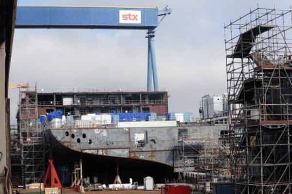 South Korea's STX Group mulls selling European shipyards