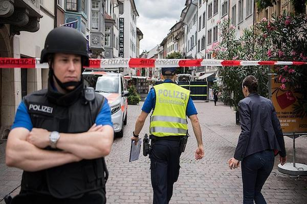 LATEST Swiss police shoot axwielding village attacker