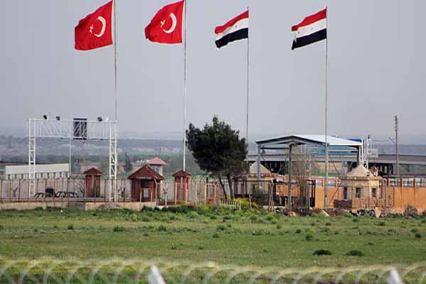 Security wall to be built on Turkey's Syrian border