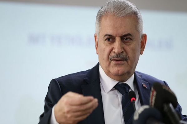 Turkish PM says The Cyprus issue should be solved for the benefit of both Turkey and Greece