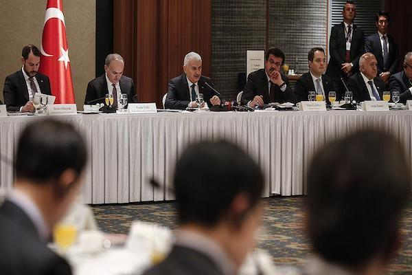 Turkish Prime Minister Binali Yildirim calls for investment from South Korea