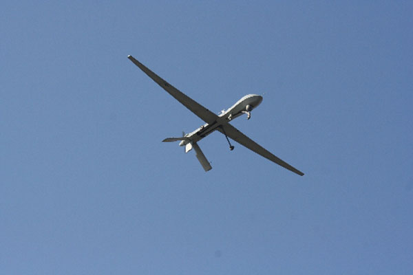 Turkish-made unmanned aircraft ready for flight