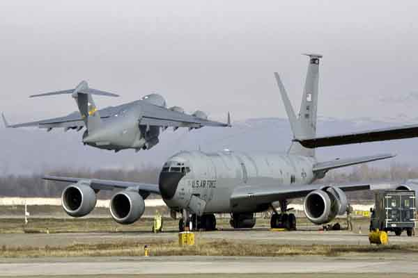 U.S. military plane crashes in Kyrgyzstan