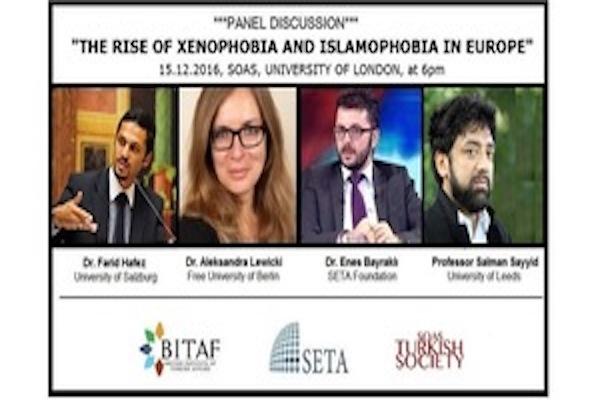 THE RISE OF XENOPHOBIA and ISLAMOPHOBIA IN EUROPE