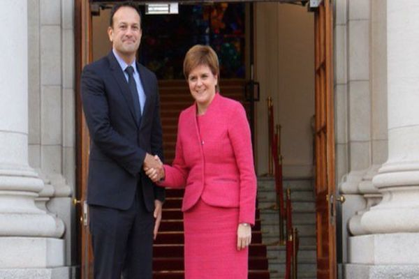 Nicola Sturgeon Scotland and Ireland are Brexit allies