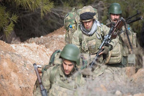 The Turkish Armed Forces and opposition forces advance deep into Afrin