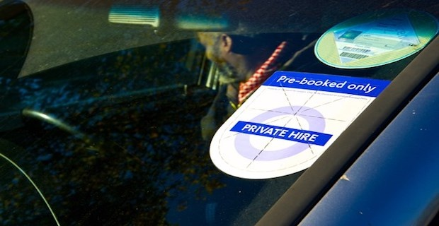 Congestion Charge for private hire vehicles PHVs in London