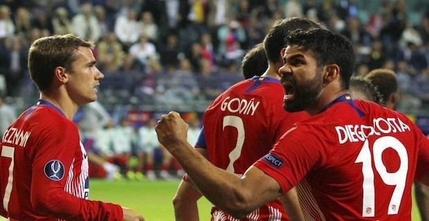 Football: Atletico Madrid wins UEFA Super Cup