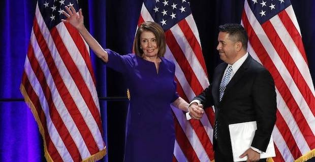 Democrats win House in setback for Trump