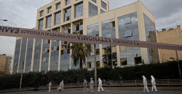 Greek private TV channel comes under bomb attack