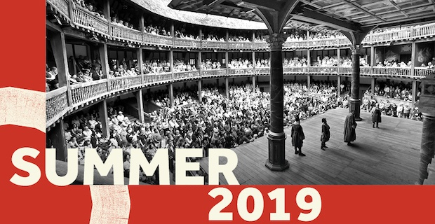 Shakespeare's Globe announces Summer Season 2019